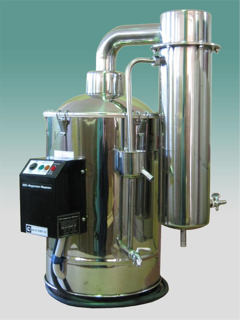 Аквадистиллятор АЭ-14-03-Я-ФП