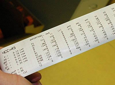 Система тестирования электоркардиографов
