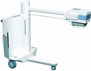 Передвижной палатный цифровой рентгеновский аппарат
